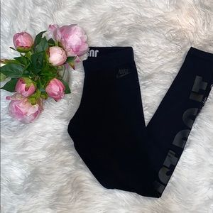 "Nike ""just do it"" leggings xs"